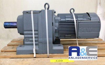 SEW Getriebemotor R107 DV132ML4/TF 9,2 kW